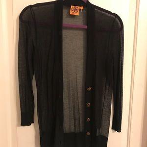 Tory Burch sheer sweater!
